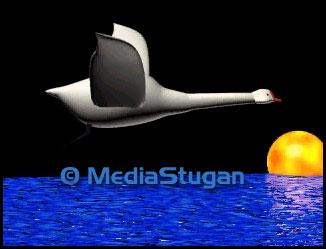3D animerad film om en svan.