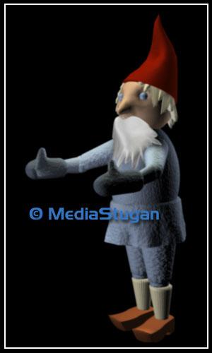 A gnome for a short film.