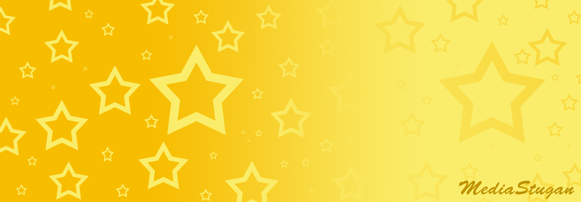 Stars on a yellow background